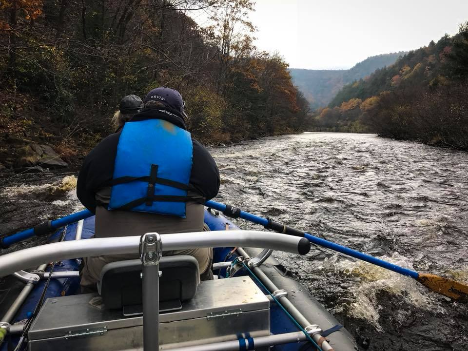 Drift Boat Trips on the Lehigh River (Main Stem and Gorge) For Trout, Susquehanna and Juniata Rivers For Smallmouth Bass with ORVIS Endorsed Fly Fishing Guide Nick Raftas