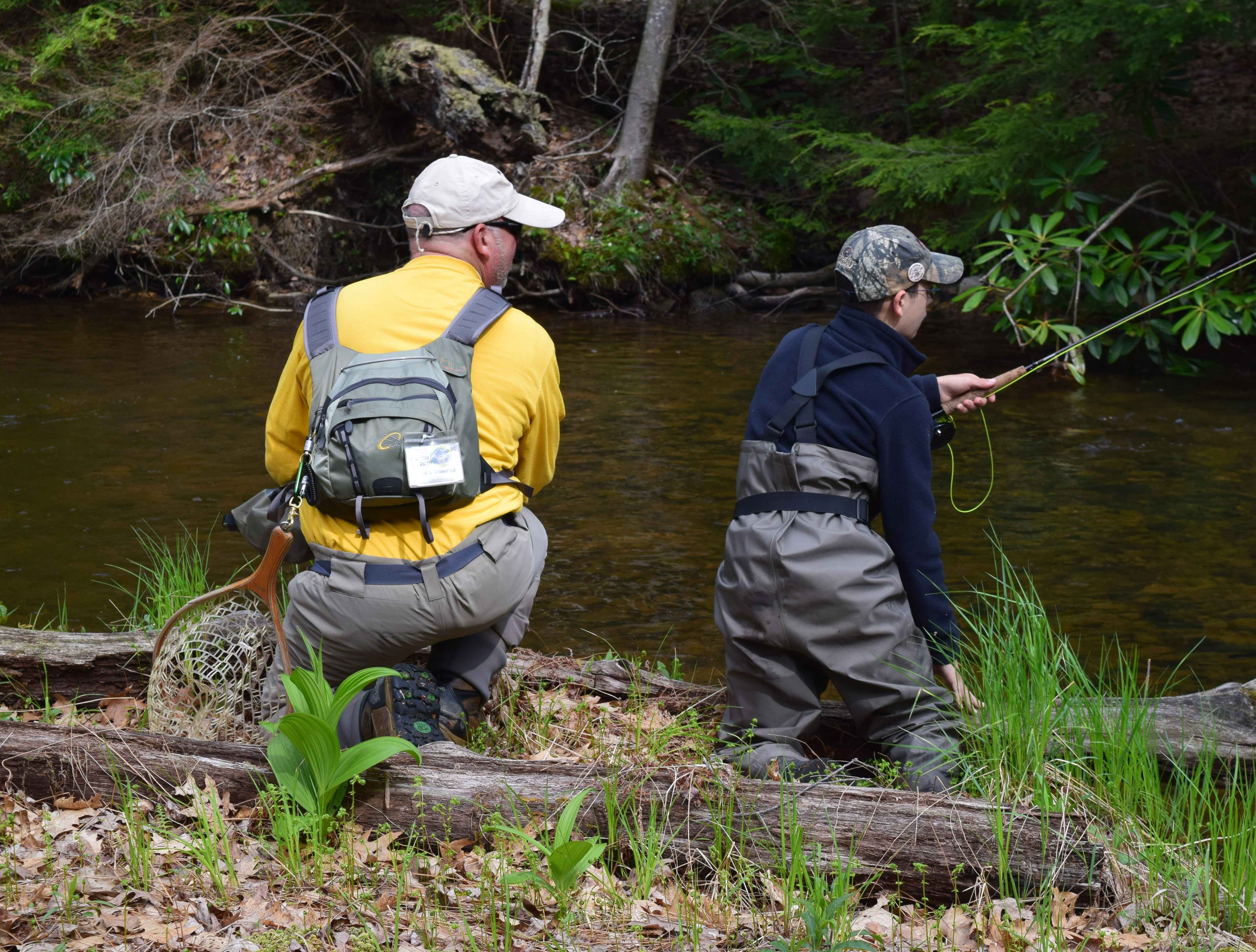 Fly Fishing Education with the Experts.  George Daniel (Nymph), Dave Allbaugh (Wet Fly) and Rick Nyles (Dry Fly)