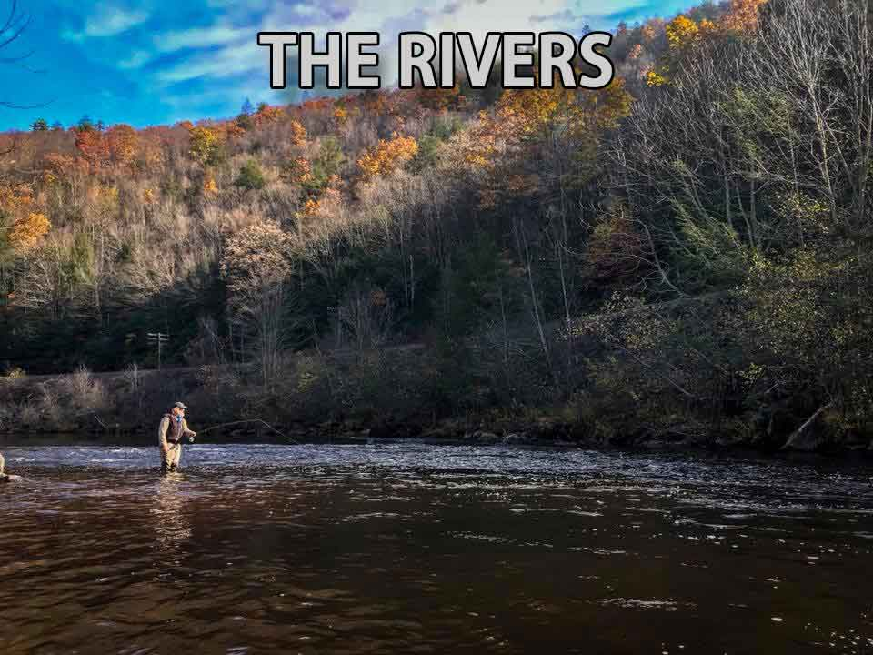 Trout and Smallmouth Walk/Drift Boat Trips Of PA
