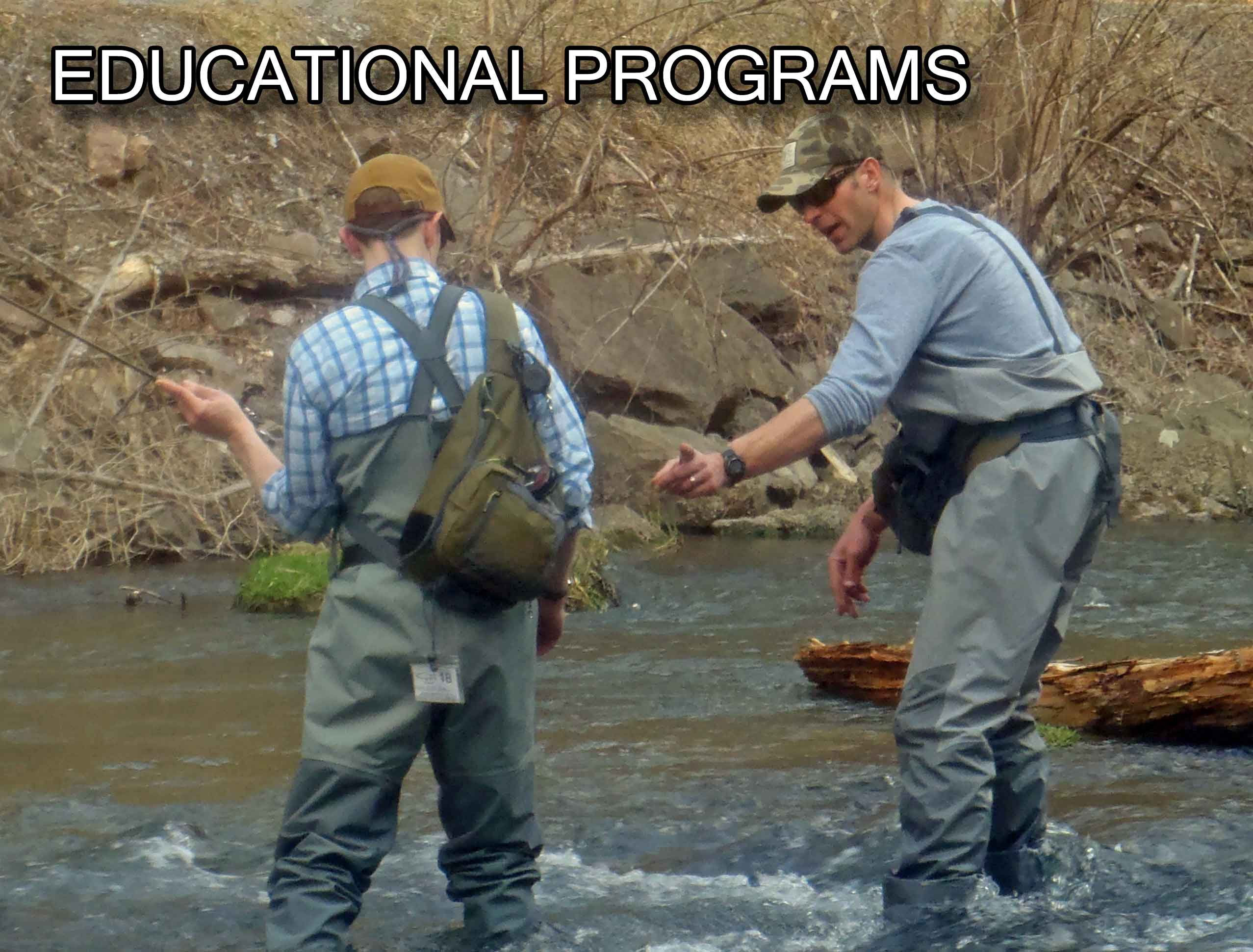 Learn From The Experts, Come Join George Daniel, Dave Allbaugh and Rick Nyles On A Fly Fishing Educational Trip To Central PA.