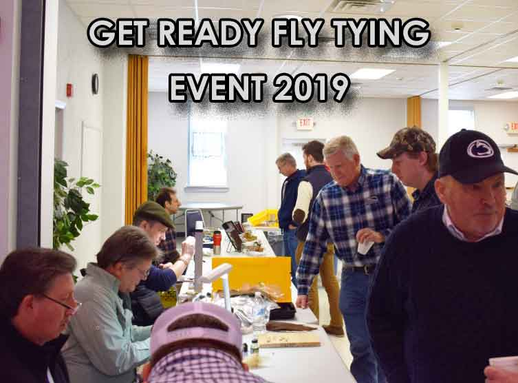 Learn To Tie Flies Or Just Hang Out In Bally, PA. Saturday February 23rd, 2019. Celebrity Fly Tyers and Presentations. Learn From The Experts. And Bring Your Fly Tying Vice.