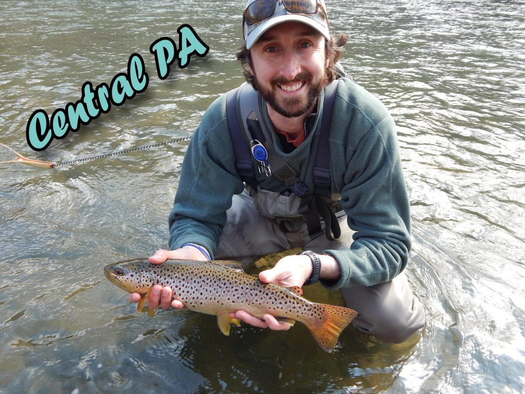 Penns, Spring, Big Fishing Creek, Little Juniata, Pine, Slate, Cedar, Kettle, Young Womens and Wild Brook Trout Streams