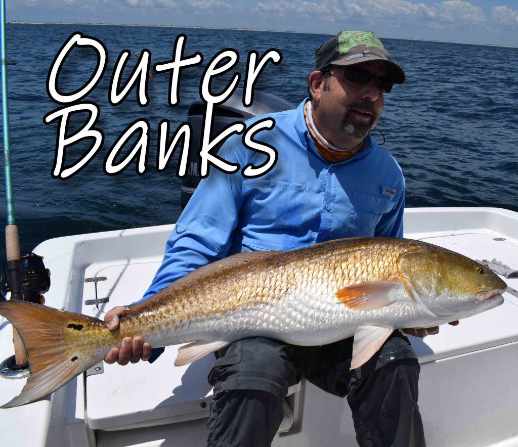 Come Join Sky Blue On Our Outer Banks Trip In 2021.  We Will Be Fishing For Drum. Seatrout, Cobia, Stripers and Mahi-Mahi.