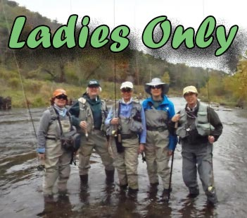 Come Join Sky Blue On Our Ladies Only Trip To Central PA. This Is A Packaged Trip That Includes Lodging, Food And Guiding.