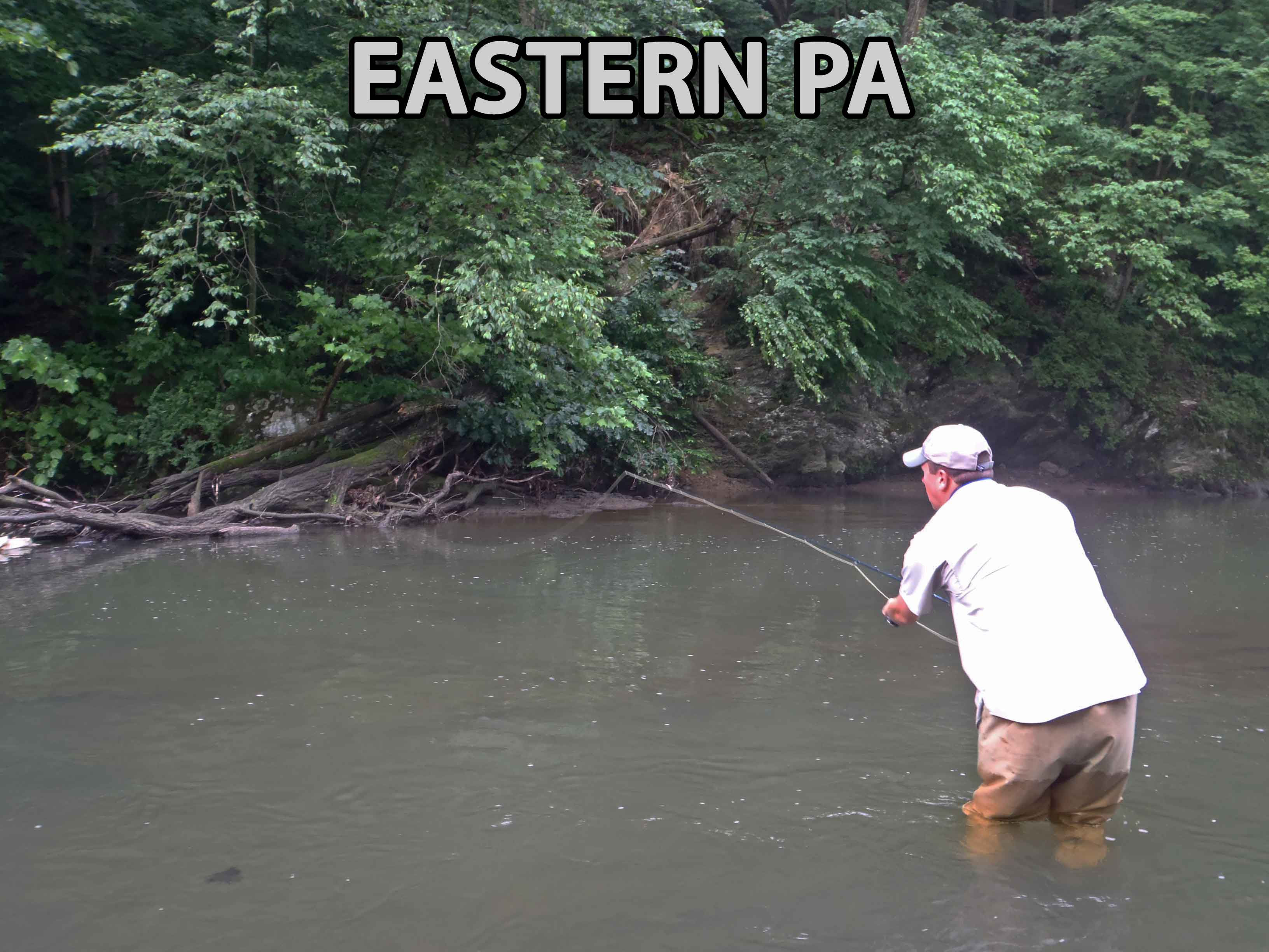 Streams and Creeks of Eastern Pennsylvania, Stocked and Class A