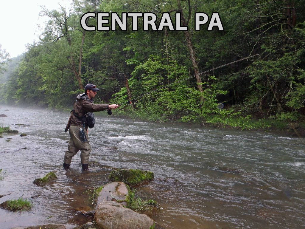 Streams And Creeks of Central Pennsylvania