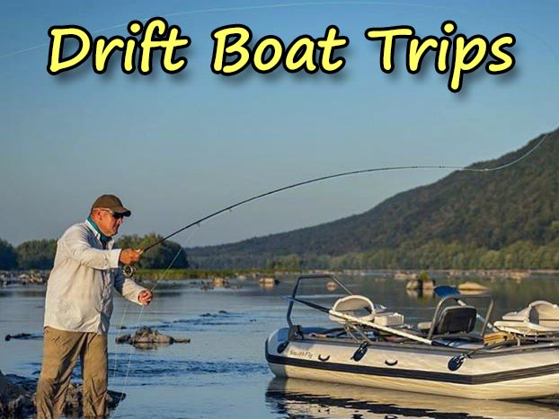 Drift Boat Trips For Trout and Smallmouth Bass On The Susquehanna, Juniata, Lehigh and Delaware Rivers.  Join Us On A Full Day Trip Or a Half Day Trip