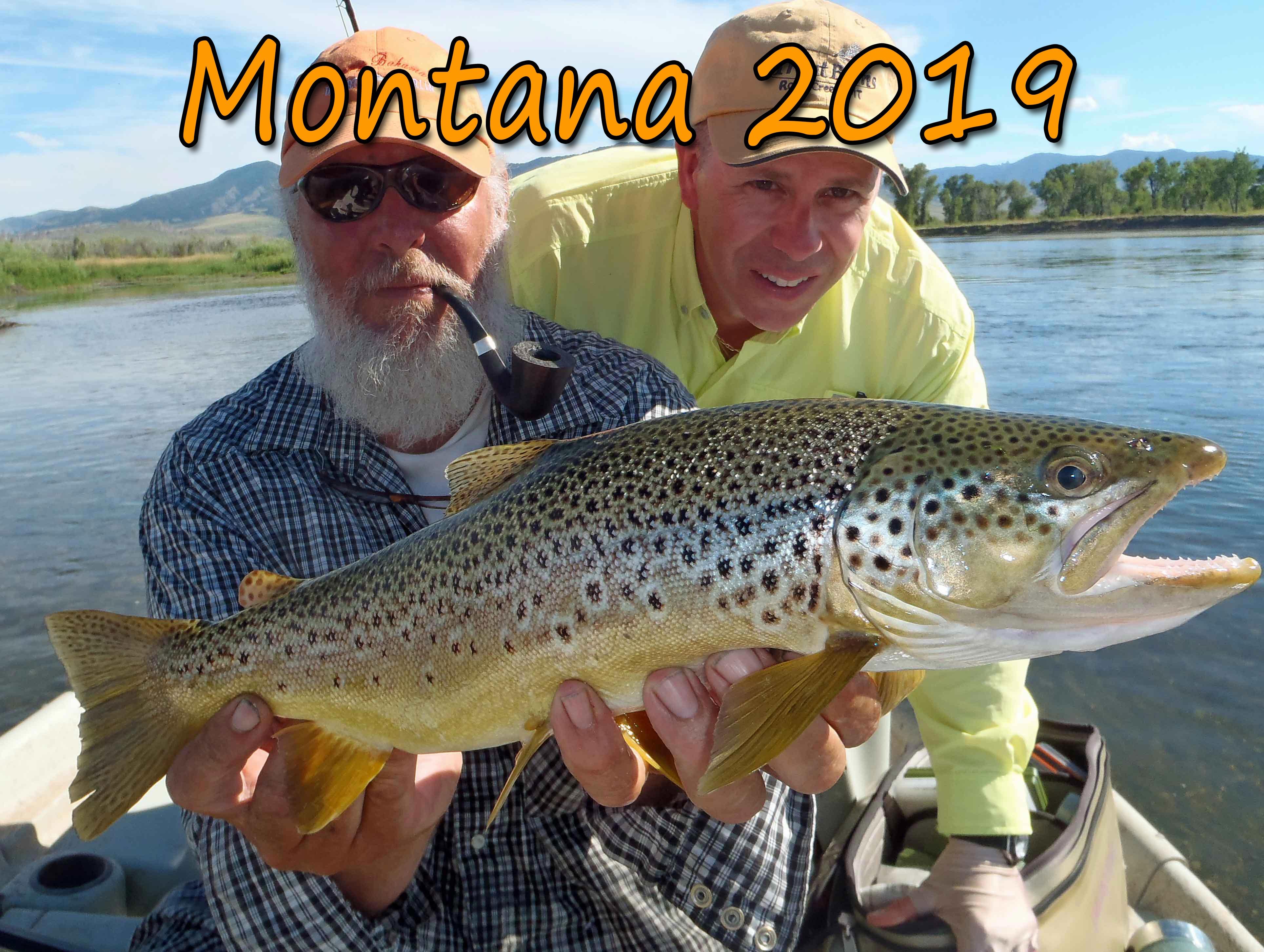 Destination Trips To Montana 2019. Rock Creek, Clark Fork, Missouri, Bitterroot, Blackfoot and Spring Creeks