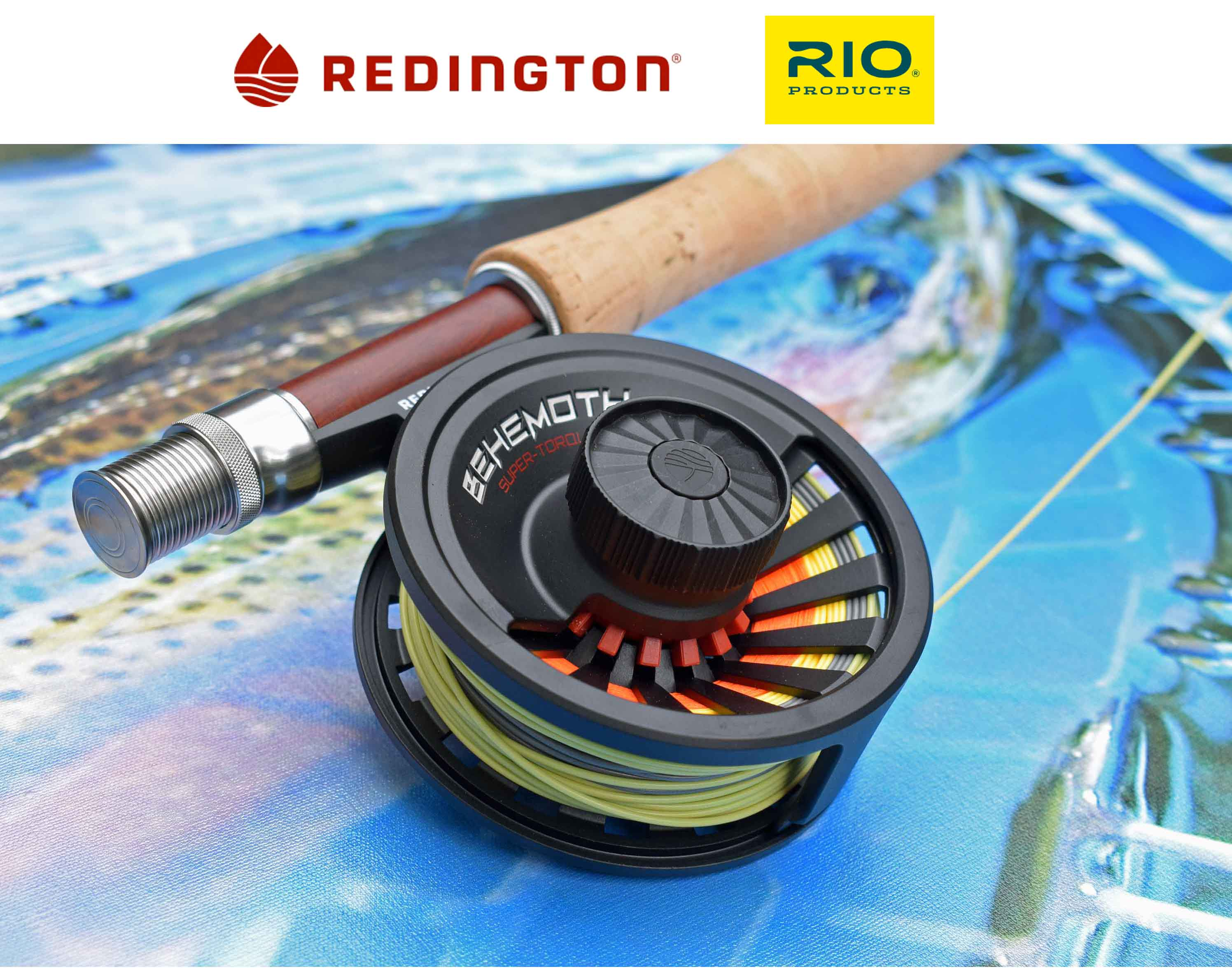 Redington Rods, Reels, Waders and Accessories And RIO Lines, Leaders And Tippets.  Complete Outfits Available