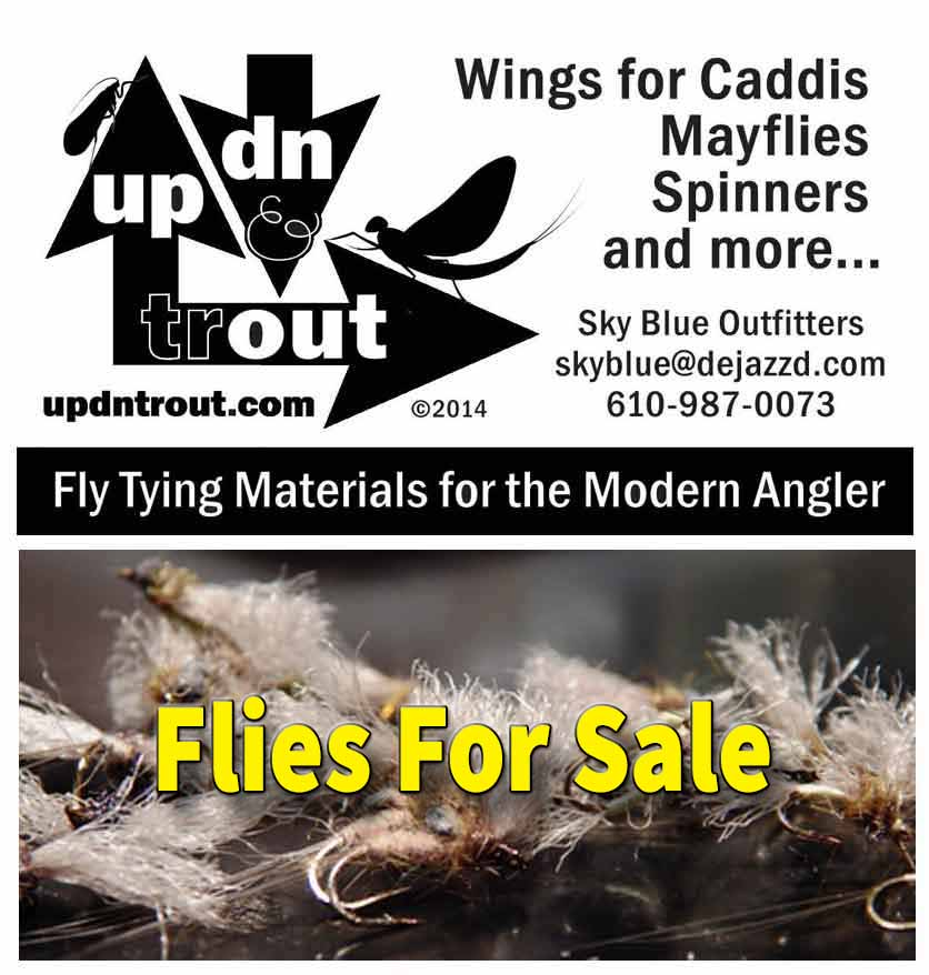 Tying Flies With The UP DN TROUT Wing Material. Videos and Various Patterns.  Easy To Work With And An Alternative To Tying With CDC