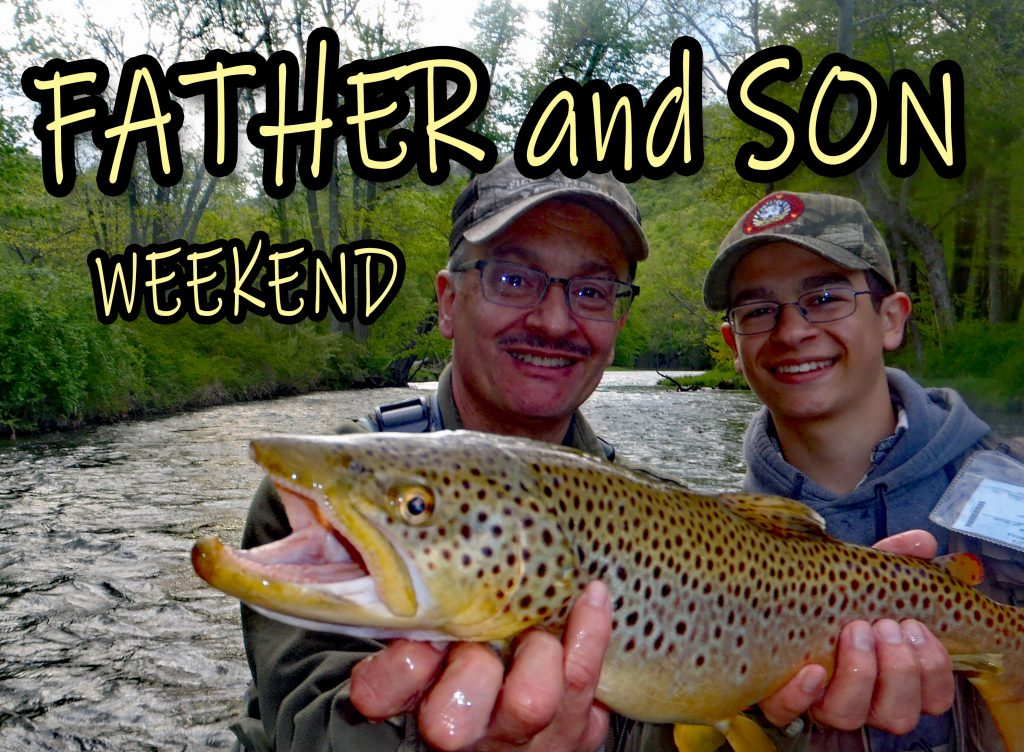 A Father And Son Weekend Of Fishing On Central Pennsylvania's Best Streams, Penns, Little Juniata And Spring.