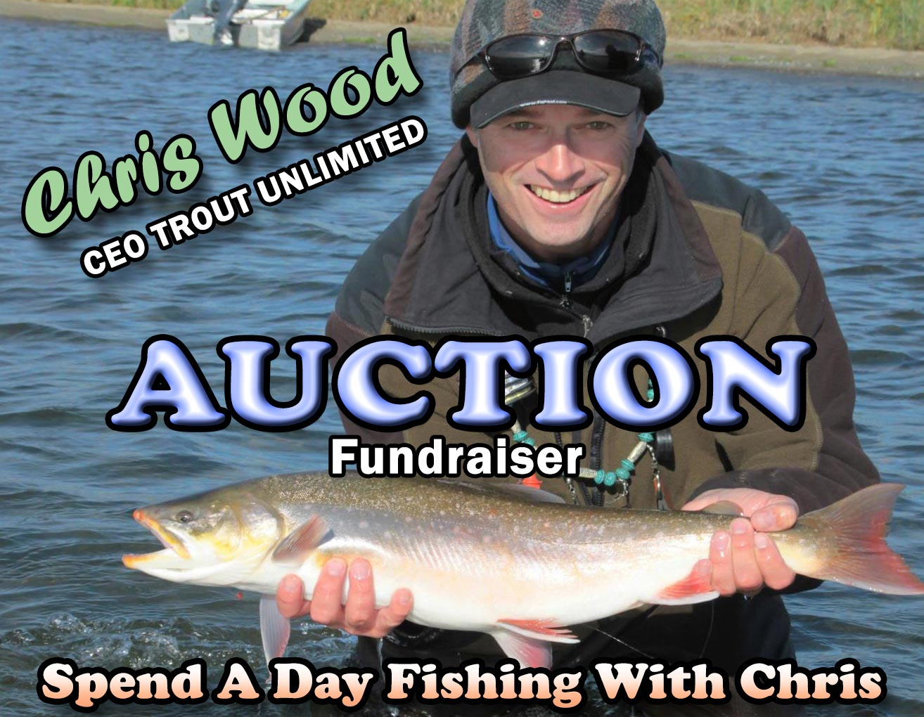 Join Chris Wood For A Day Of Fishing in Central PA. This Is A Fundraising Event To Support PA Council Of Trout Unlimited.